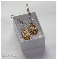 Bronze PMC June Earrings