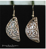 PMC Celtic Earrings