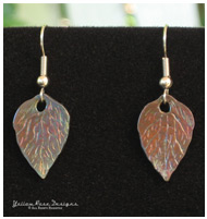 PMC Autumn Earrings