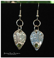 PMC Peridot Earrings